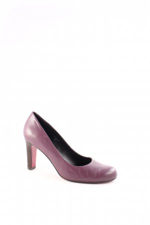 Belmondo High Heels lilac-brown classic style