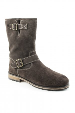 Belmondo Short Boots dark brown casual look