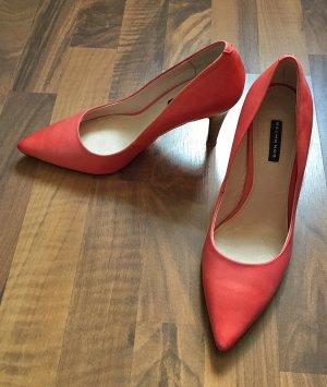 Belmondo Pumps, High Heels, Größe 38, lachsfarben