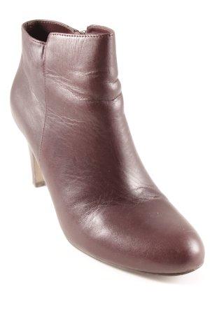 Belmondo Reißverschluss-Stiefeletten dunkelbraun klassischer Stil