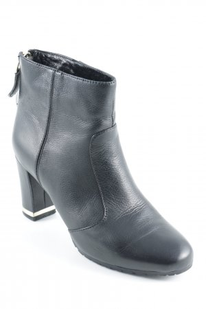 Belmondo Zipper Booties black elegant