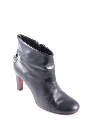 Belmondo Reißverschluss-Stiefeletten schwarz klassischer Stil