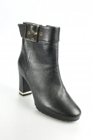Belmondo Zipper Booties black street-fashion look