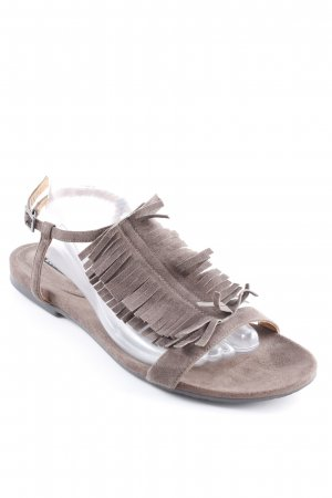 Belmondo Strapped Sandals grey brown casual look