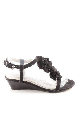 Belmondo Riemchen-Sandaletten schwarz Casual-Look