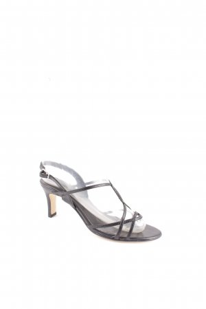 Belmondo Strapped High-Heeled Sandals black elegant
