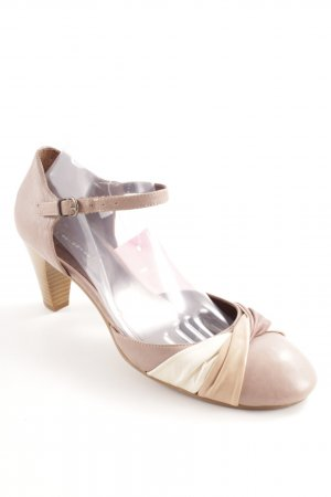 Belmondo Strapped pumps cream-beige elegant