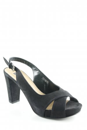 Belmondo Riemchenpumps schwarz Party-Look