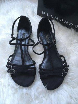Belmondo Sandaletten schwarz in Größe 38