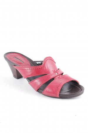 Belmondo High-Heeled Sandals brick red casual look