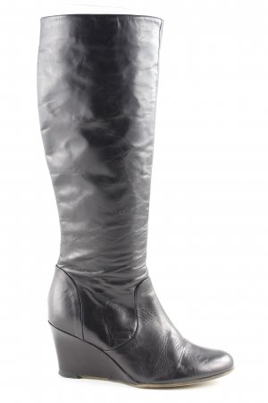 Belmondo Schaftstiefel schwarz schlichter Stil