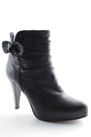 Belmondo Schlüpf-Stiefeletten schwarz klassischer Stil