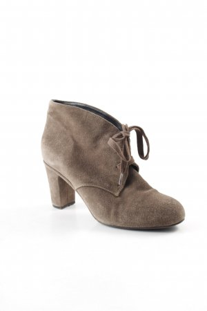 Belmondo Lace-up Booties grey brown casual look