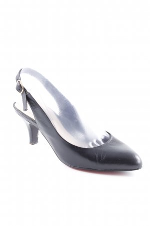 Belmondo Slingback-Pumps schwarz Business-Look