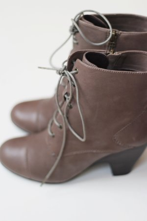 BELMONDO Stiefelette, khaki/braun