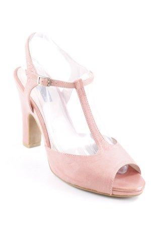 Belmondo T-Steg-Pumps rosa Elegant