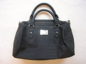 Belmondo Bowling Bag black imitation leather