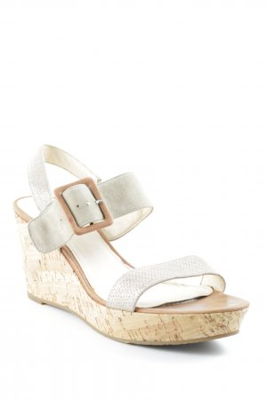 Belmondo Wedge Sandals multicolored glittery