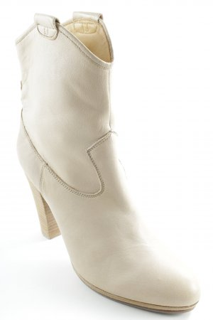 Belmondo Western Booties cream casual look
