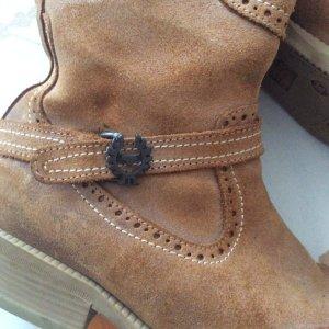 Belstaff Short Boots brown-beige suede