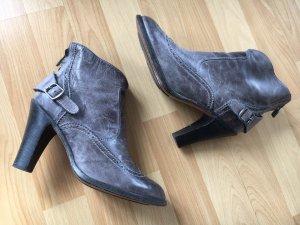 Belstaff Low boot gris cuir