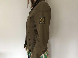 Belstaff Biker Jacket grey brown-green grey