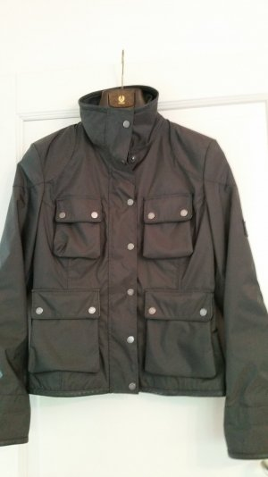 Belstaff Bikerjacke Gold Label grau, Größe 46 IT/ 40 D