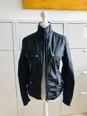Belstaff Bikerjack donkerblauw-staalblauw