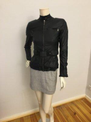 Belstaff Bikerjacke Jacke schwarze Luxusjacke Ital. 42