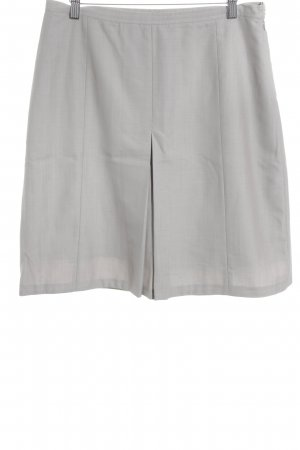 Belstaff Pencil Skirt light grey weave pattern business style