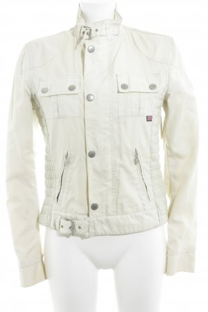 Belstaff Flight Jacket cream casual look