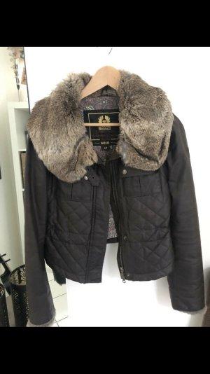 Belstaff Fur Jacket brown-light brown