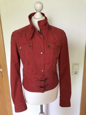 Belstaff Biker Jacket red nylon
