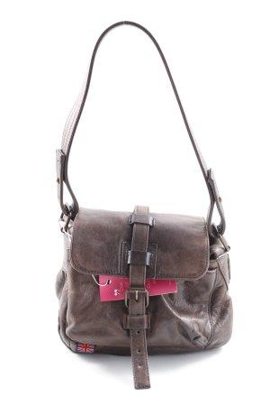 Belstaff Handtasche braun klassischer Stil