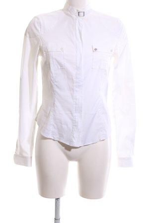 Belstaff Hemdblouse wit zakelijke stijl