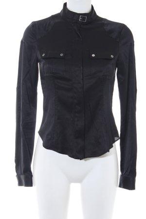 Belstaff Hemd-Bluse schwarz Elegant