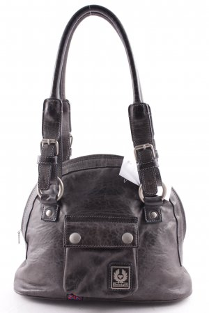 Belstaff Bolso barrel gris look casual