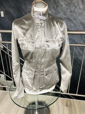 Belstaff Biker Jacket silver-colored