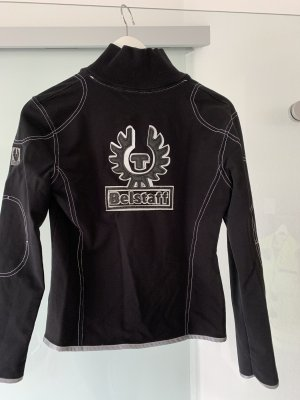 Belstaff Bikerjack zilver-zwart
