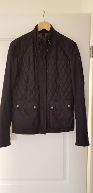 Belstaff Quilted Jacket dark blue cotton