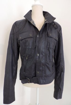 Belstaff Short Jacket slate-gray mixture fibre