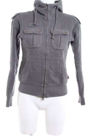 Belstaff Hooded Sweatshirt light grey casual look