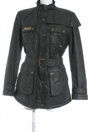 Belstaff Long Jacket black simple style