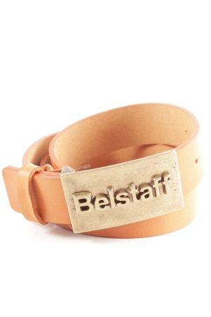 Belstaff Cinturón de cuero coñac look casual