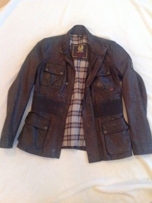 Belstaff Leather Jacket bronze-colored leather
