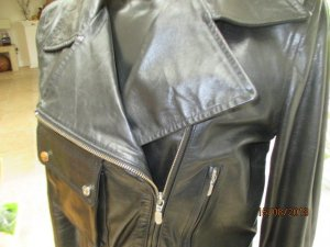 Belstaff Leather Jacket black leather