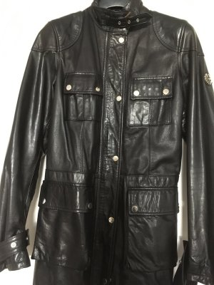 Belstaff Leather Jacket black