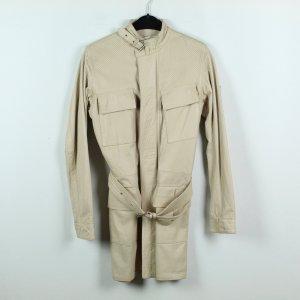 Belstaff Leren jas licht beige-room Leer