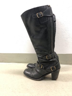 Belstaff Heel Boots black-black brown
