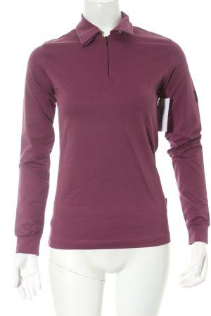 Belstaff Longsleeve purpur minimalistischer Stil
